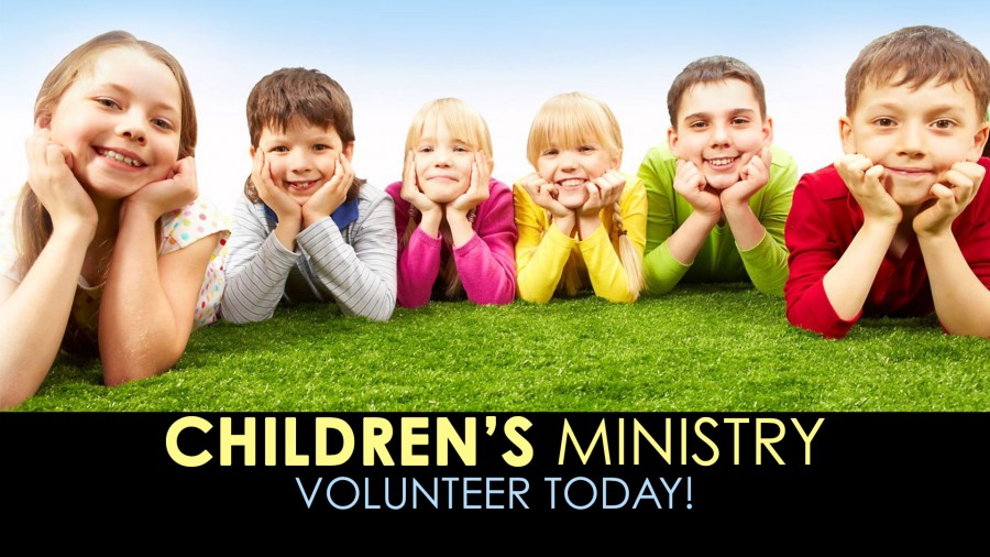 Children's Ministry - Volunteer Today!
