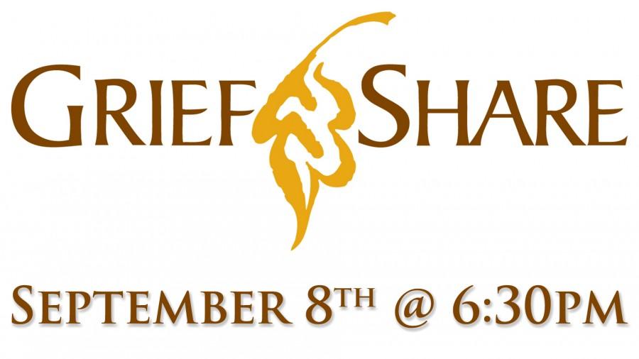 GriefShare - Begins Sept. 8th