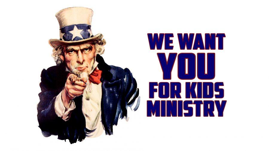 Kids Ministry Volunteers Needed