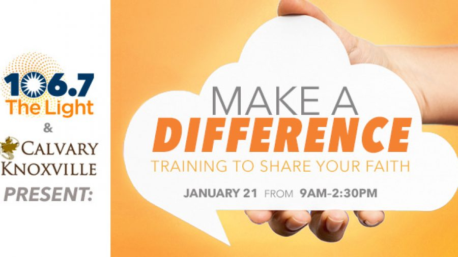 Make a Difference - Register Now!