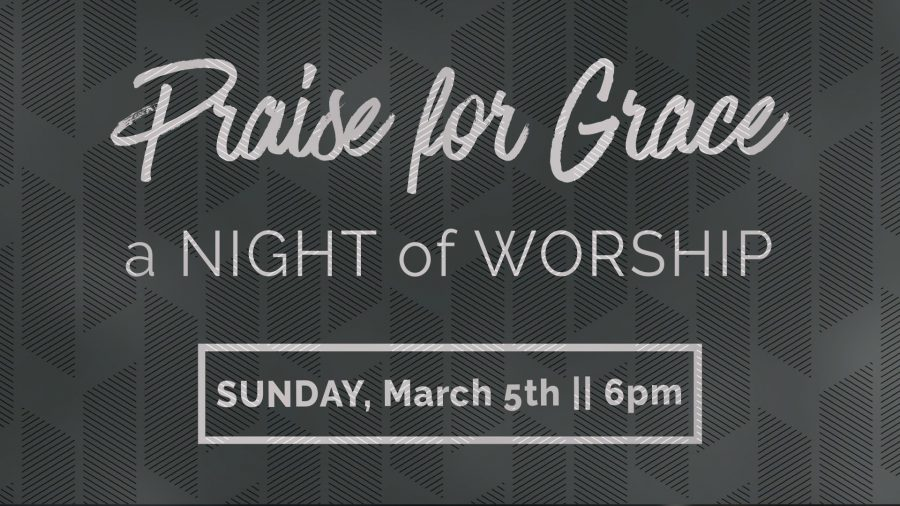 Night of Worship - March 5th @ 6pm