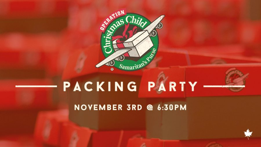 OCC Packing Party - Nov 3