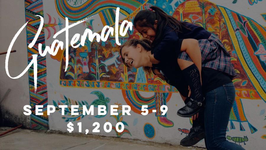 Guatemala Trip - Register Now!