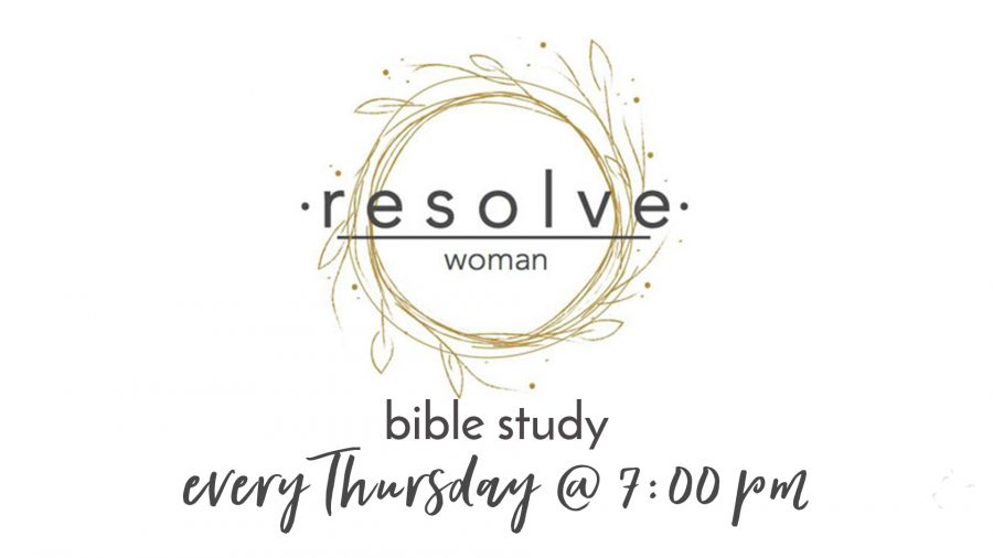 Resolve Women Bible Study