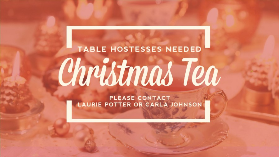 Table Hostesses Needed - Signup!