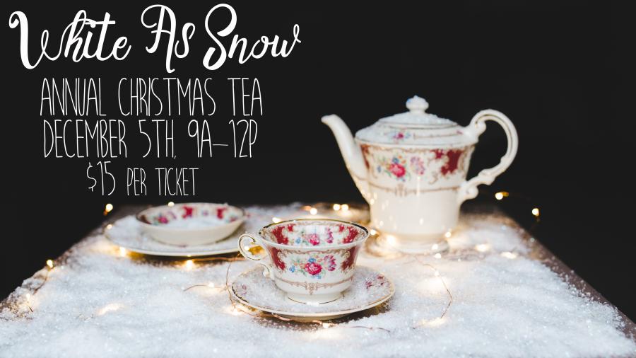 Christmas Tea - Dec. 5th | 9-Noon